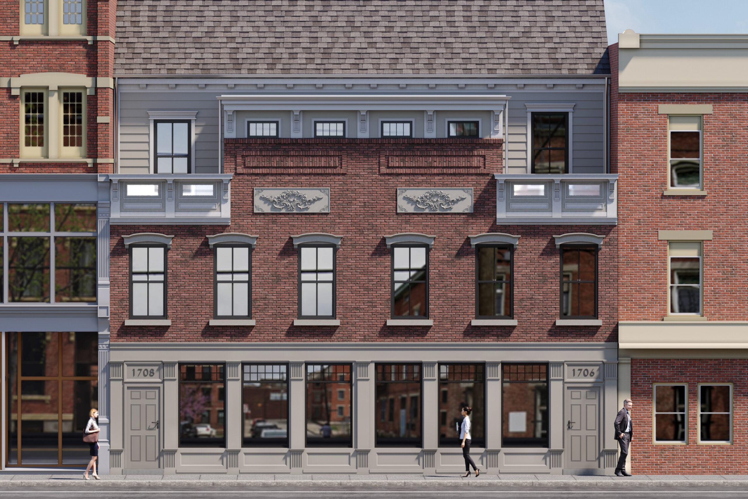 Over 3,300 sq. ft. of Modern Living Space in OTR! | 1706 & 1708 Elm St.